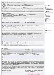 Visa Application Cover Letter Covering Letter For Tourist Visa Turkey