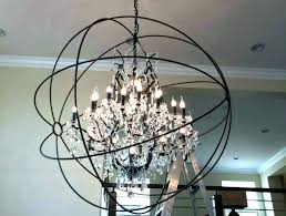 full size of wood metal crystal chandelier shabby vintage globe ceiling trans home improvement adorable cha