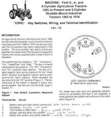 Ford 3400 Tractor Wiring Diagram Ford 800 Tractor Wiring Diagram