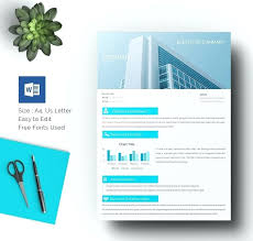 Microsoft Word Brochure Template Change Picture Example 1862