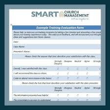 Church Human Resource Forms