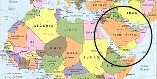 Resultado de imagen de peninsula arabiga