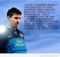 Lionel Messi Quotes Extraordinary Inspirational Lionel Messi Quote With Picture