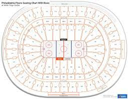 philadelphia flyers seating charts at