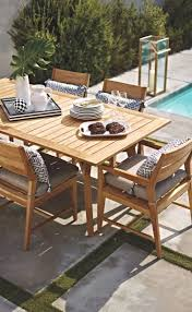 classic modern outdoor furniture design ideas grace. Modern Lines Pair With Classic Teak Construction For Relaxed Yet Sophisticated Outdoor Dining. Furniture Design Ideas Grace A
