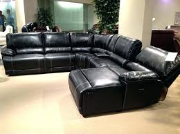 black leather sectional couch gray leather sectional recliner black leather sectional sofa with recliner impressive home