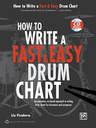 How To Write A Fast Easy Drum Chart