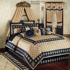 royal blue comforter set king size new luxury blue and gold bedding sets best home plans