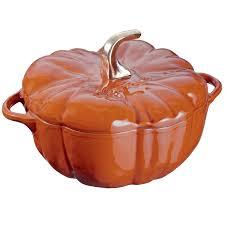 staub cast iron pumpkin. Exellent Iron Staub 11124806 Pumpkin Cocotte Oven 35 Quart Burnt Orangecinnamon In Cast Iron C