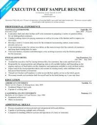 Marvelous Sample Resume Cook Restaurant With Additional Restaurant ...