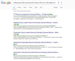 Google Advance Search Strings Are No Long Working Google