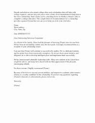 Scholarship Recommendation Letter Sample 30 Scholarship Recommendation Letter From Friend
