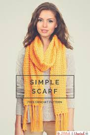 Pretty V Scarf Free Crochet Patterns Free Pattern Scarves And