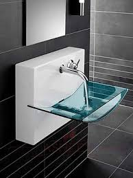 Sinks, Modern Bathroom Sinks Modern Bathroom Pedestal Sink Glass Design  Amazing Cool Good: awesome