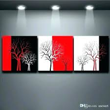 red wall art decor colorful metal black white three and home decorating ideas paintings w on black red and white wall art with red wall art decor colorful metal black white three and home