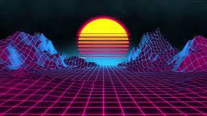Neon Sunset Live Wallpaper Download ...