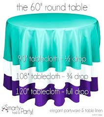 what size tablecloth for 60 inch round table inch round table with square tablecloth what size