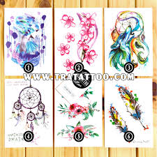 цветные наклейки тату
