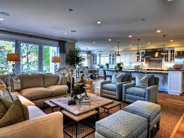 living room open floor plan and dining furniture kitchen layouts farmhouse open kitchen living room