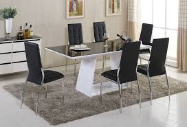 Dining Room Table Sets Leather Chairs Collection Cool Inspiration Ideas