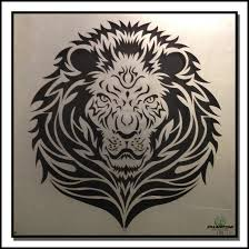 lion lion metal wall art by laser cutting gives you extreme possibilities for design precision