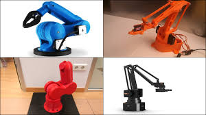 featured image of 10 best 3d printed robot arms to diy or