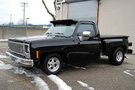 1980 Chevrolet C10 SHORT BED STEP SIDE DELUXE CUSTOM AIR RIDE ...
