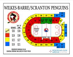 Senators Hockey Seating Chart Ahl Hockey Senators Vs Penguins Mohegan Sun Arena