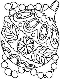 christmas ornament coloring pictures. Beautiful Christmas Christmas Ornaments Coloring Page Pages Tree  With Ornament Pictures R