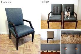 reupholster an office chair. Reupholster Office Chair Reupholstered View In Gallery Leather Diy An E