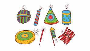 Crackers Free Vector Art Downloads Icons Diwali Crackers