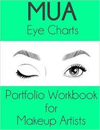 Makeup Artist Eye Charts Mua Eye Charts Portfolio Workbook For Makeup Artists Gaia