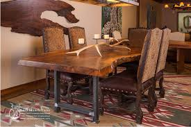 rustic dining room tables table