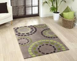Ikea Grey Flower Rug Shag Rugs Contemporary Rug In Green And Grey