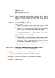 Trade Show Project Manager Resume Example Event Management