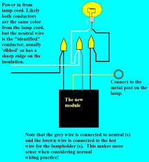 3 way touch lamp switch wiring diagram circuit and schematics how to wire a lamp with two bulbs at Lamp Switch Wiring Diagram