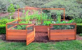cedar complete raised garden bed kit