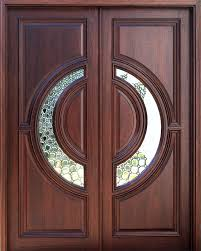 residential double front doors. Contemporary Exterior Doors With Round Glass Decoration Ideas. Residential Double Front