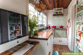 tiny office. Exquisite Decoration Tiny House Office Pictures Life In Our Trailer One Year On