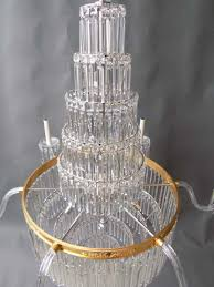 waterfall crystal chandelier picture 2