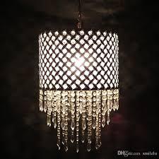 european modern white acryl beads hang lamp creative fashion living room bedroom restaurant garden iron chandelier blown glass pendant light clear glass