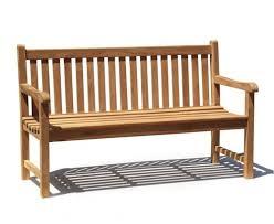 3 seater teak garden bench for sitting