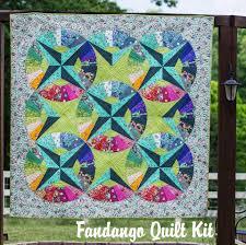 Quilt Pattern - Fandango Quilt Kit & Fandango Quilt Kit Adamdwight.com