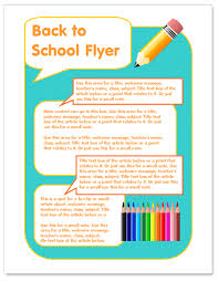 Brochure Templates On Microsoft Word Format For Flyers Worddraw Back To School Flyer Template For