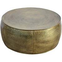 Blue, coffee, gold, gray, black, purple, red, white. Buy Hammered Drum 95cm Coffee Table Online Prices In Australia Myshopping Com Au
