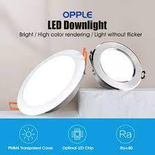 Youpin OPPLE 3W Đèn LED Âm Trần 120 Độ Chiếu Sáng Góc Tường Điều Khiển Công