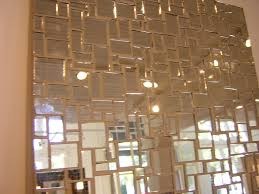 Mirror Tiles Decorating Ideas Bathroom Creative Mirrored Bathroom Wall Tiles Decoration Idea 10