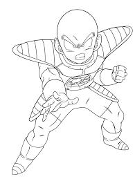 G Nial Coloriage Dragon Ball Z Krilin