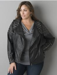 back to plus size motorcycle jacket for apple and pear shaped women previous in gallery