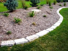 Stone Edging For Landscaping Ideas Front Yard Border Home Design